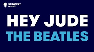 "Hey Jude in the Style of ""The Beatles"" karaoke video with lyrics (no lead vocal)"