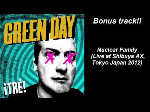 Green Day Nuclear Family Live Bonus Track