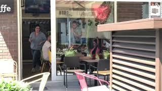 Ana i David uhvaćeni na piću sa prijateljem u jednom beogradskom kafiću! 16.07.2019.