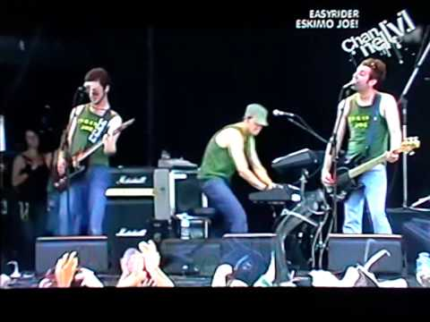 From the sea- Eskimo Joe (Big Day Out, 2005, live)