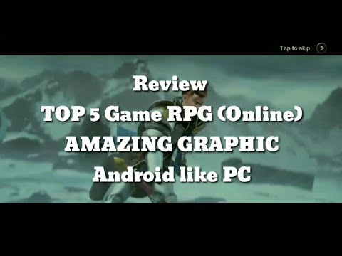 Review - TOP 5 Game RPG 3D Android (AMAZING GRAPHICS)
