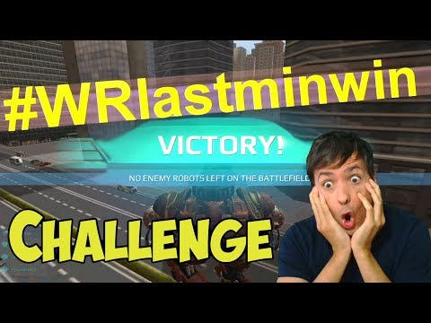War Robots #WRlastminwin Challenge: Win Dash or Inquisitor Or Gold
