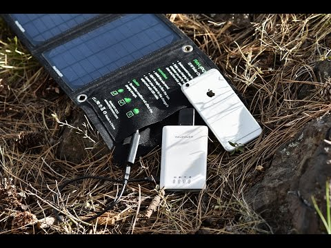 Solar Energy Is Your New Gadget Power Source