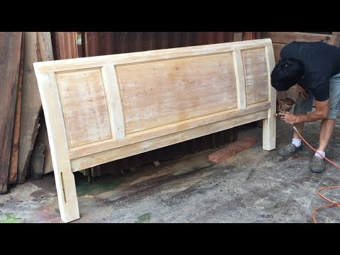 Woodworking Project // Latest Modern & Simple Wooden Bed Design Idea - Home Decor DIY Ideas