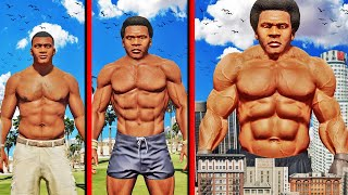 FRANKLIN Becomes WORLDS STRONGEST MAN In GTA 5 (Super Strength)