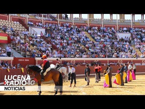 VÍDEO: Algunos lances del Festival Taurino celebrado ayer en el Coso de los Donceles
