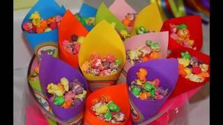 Дети.День рождение.украшение праздничного стола на детский день рождения!!!!