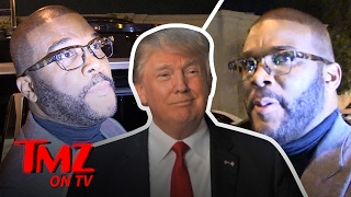 Repeat youtube video Tyler Perry Has Hopes for Donald Trump | TMZ TV