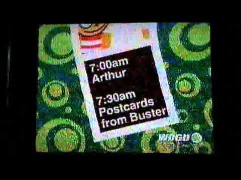PBS Kids Schedule Bumper - Photo Booth (2005 WBGU-TV ...