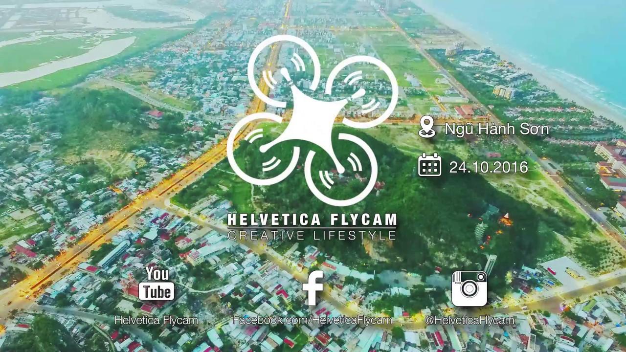 [Helvetica Flycam] Góc Nhìn Trên Cao Ngũ Hành Sơn – Đà Nẵng