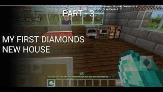 Mining diamonds, my new house , exploring village