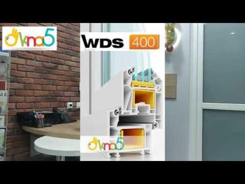 Окна WDS 400, окна WDS 4 Series - видео обзор ОКна 5. Окна ВДС 400 и Окна ВДС 4 серии - обзор ОКна 5