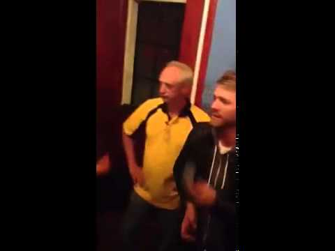 A drunk Brian McFadden sings Westlife's Flying Without Wings on karaoke