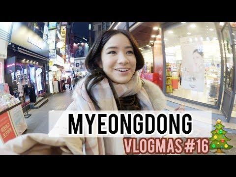 Last Time Shopping in Myeongdong | Vlogmas #16