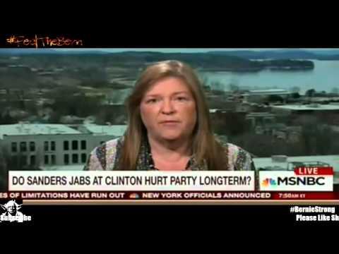 Jane Sanders for Bernie Sanders onMorning Joe MSNBC Full Live 4/28/2016