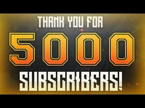 VIDEOCLIP SPECIAL DE 5000 ABONATI! [GIVEAWAY]
