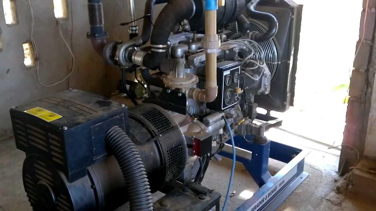 be4faef8444 Gerador 80KVA a Biogás ER-BR - YouTube