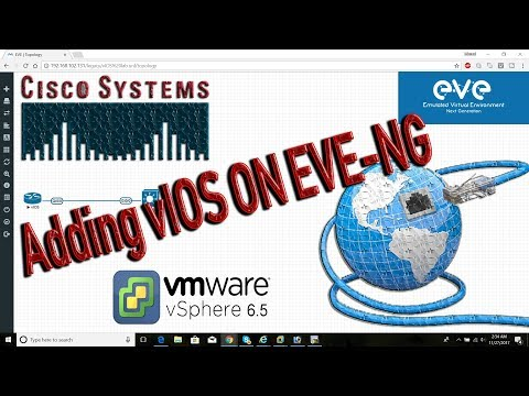 How to Add Cisco vIOS Images on EVE-NG or UNetLab by Kamran Shalbuzov