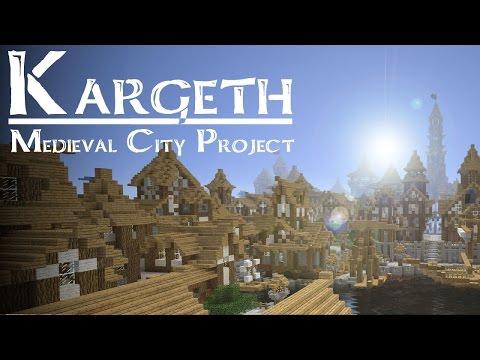 !!Ciudad Medieval!! / Mapas Minecraft / KARGETH