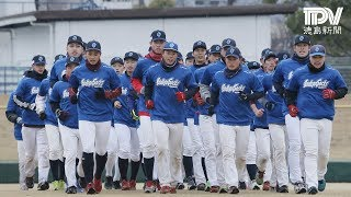 徳島インディゴソックス 合同自主トレーニング始動