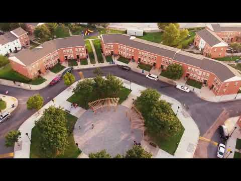 Baltimore's freestyle Drone shots