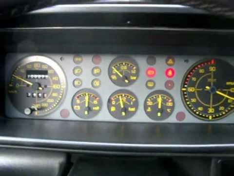 Lancia Delta EVOLUZIONE turbo integrale... engine sound