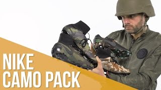 Nike Camo Pack - Magista, Mercurial, Hypervenom y Tiempo