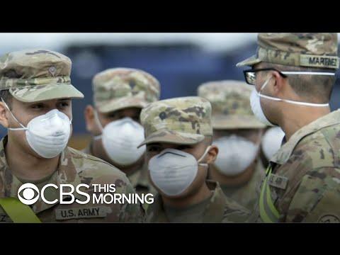Inside The Army's Coronavirus Field Hospital In New York City