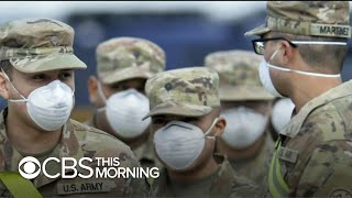 Inside the Army's coronavirus field hospital in New York City
