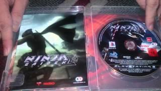 Nostalgamer Unboxing Ninja Gaiden Sigma 2 Two Collectors Edition On Sony Playstation Three System UK