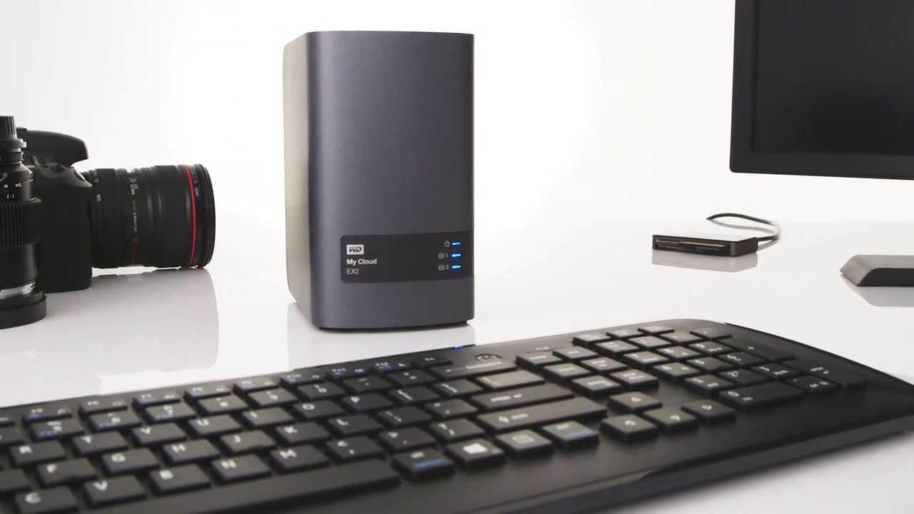 PLE Computers WD My Cloud EX2 Ultra 4TB NAS Device Network Storage  WDBVBZ0040JCH Western Digital
