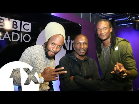 Jah Prayzah & Winky D Freestyle on BBC Radio 1Xtra