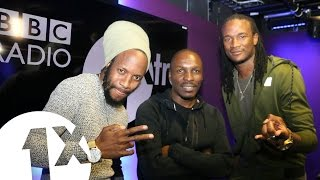 Jah Prayzah Winky D Freestyle On BBC Radio 1Xtra