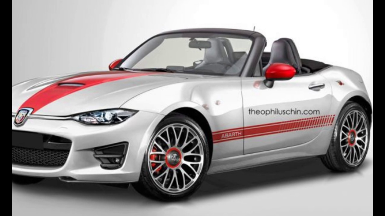 In 2018 Fiat New Abarth 124 Spider