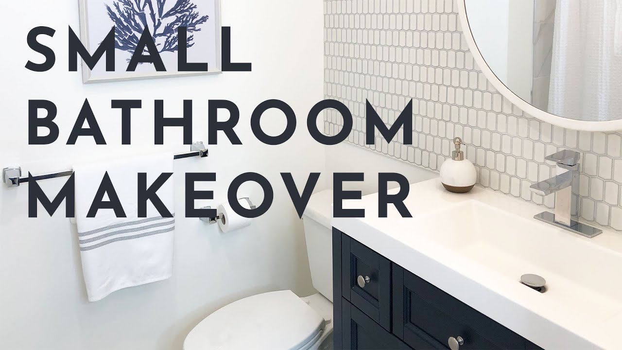 Small Bathroom Makeover Diy Perfect Fusion