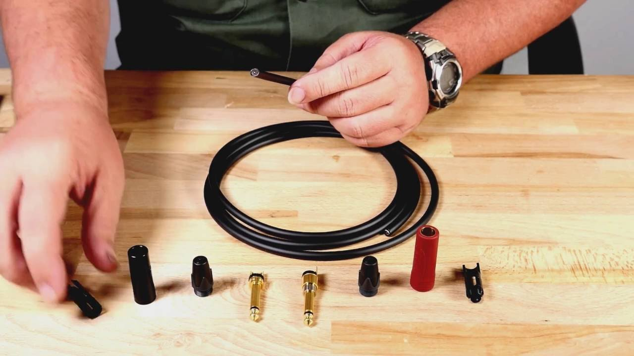 medium resolution of how to solder instrument cable with ts 1 4 and neutrik silentplug