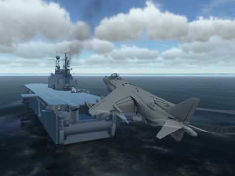 Another VTOL this time on LHA USS Tarawa