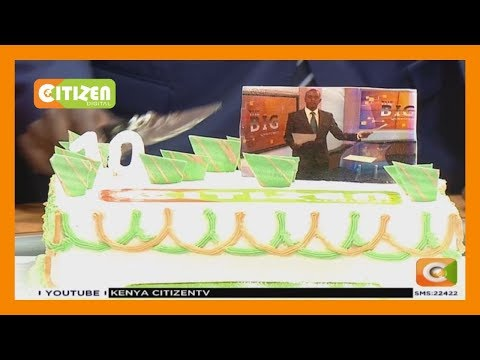 Hussein Mohamed's last moments in Citizen TV studios, with c