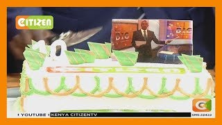 Hussein Mohamed39s last moments in Citizen TV studios with colleagues