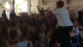 Vatersay Boys Ceilidh in Vatersay Hall July 2018