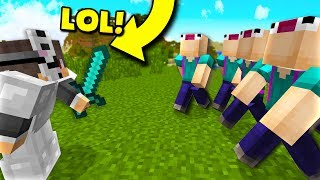 PLAYING WITH FANS? - Stream (Minecraft Pocket Edition)