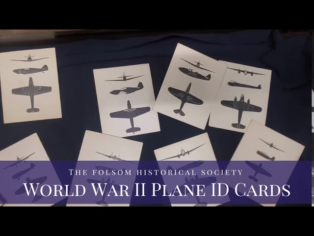 ArtiFeatures - WWll Plane ID Cards