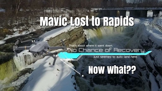 Ep38. Mavic Pro Lost Forever!  Error causes it to go down in these rapids.