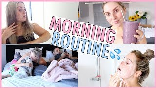 MORNING ROUTINE 💦 Gym, Smoothies & Shower With Me!