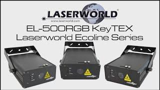 Laserworld EL-500RGB KeyTEX   Laserworld Ecoline Series