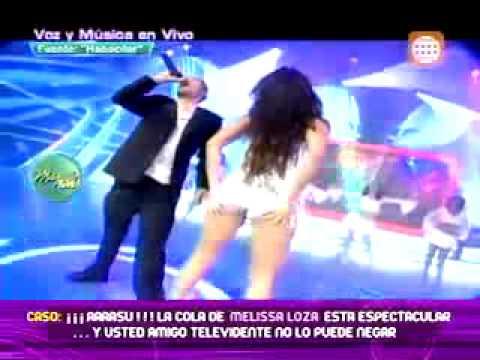 Melissa Loza baila espectacularmente la misma canción que bailo Jennifer López 13/06/2011