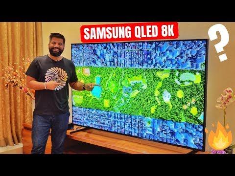 Samsung QLED 8K 2019 TV First Look - 33 Million Pixels Look Crazy🔥🔥🔥