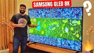 Samsung QLED 8K 2019 TV First Look - 33 Million Pixels Look Crazy🔥🔥🔥