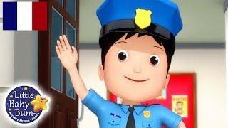 Police Chanson | Comptines | Little Baby Bum en Français | Comptines Pour Bébé