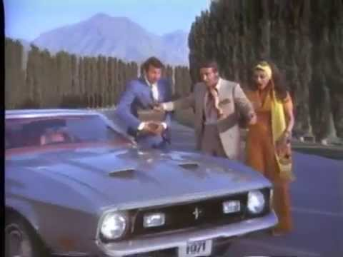 1971 Ford Mustang TV Ad Commercial (1/4)